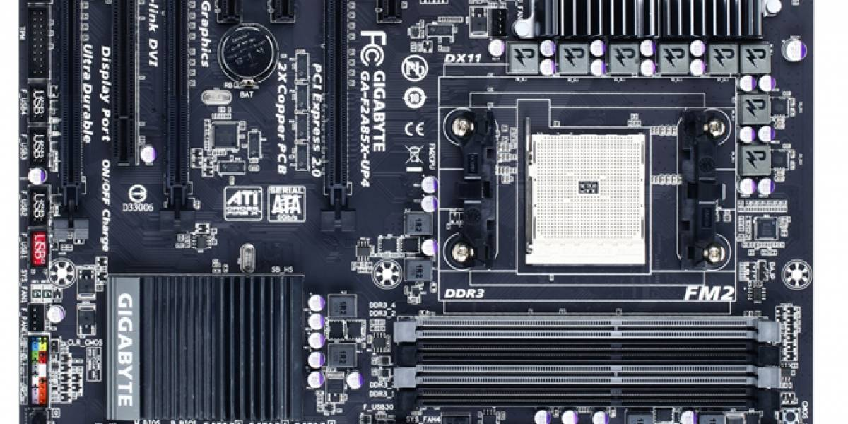 Gigabyte ya está listo para el lanzamiento de las APU AMD para escritorio