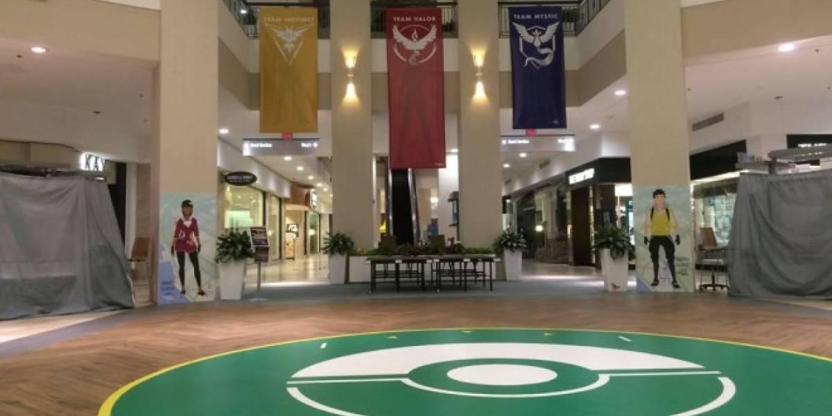 Centro comercial construyó un verdadero gimnasio Pokémon