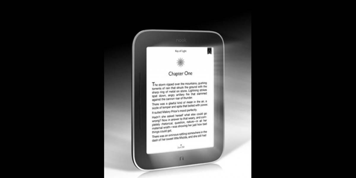 Barnes & Noble anuncia una Nook que brilla en la oscuridad