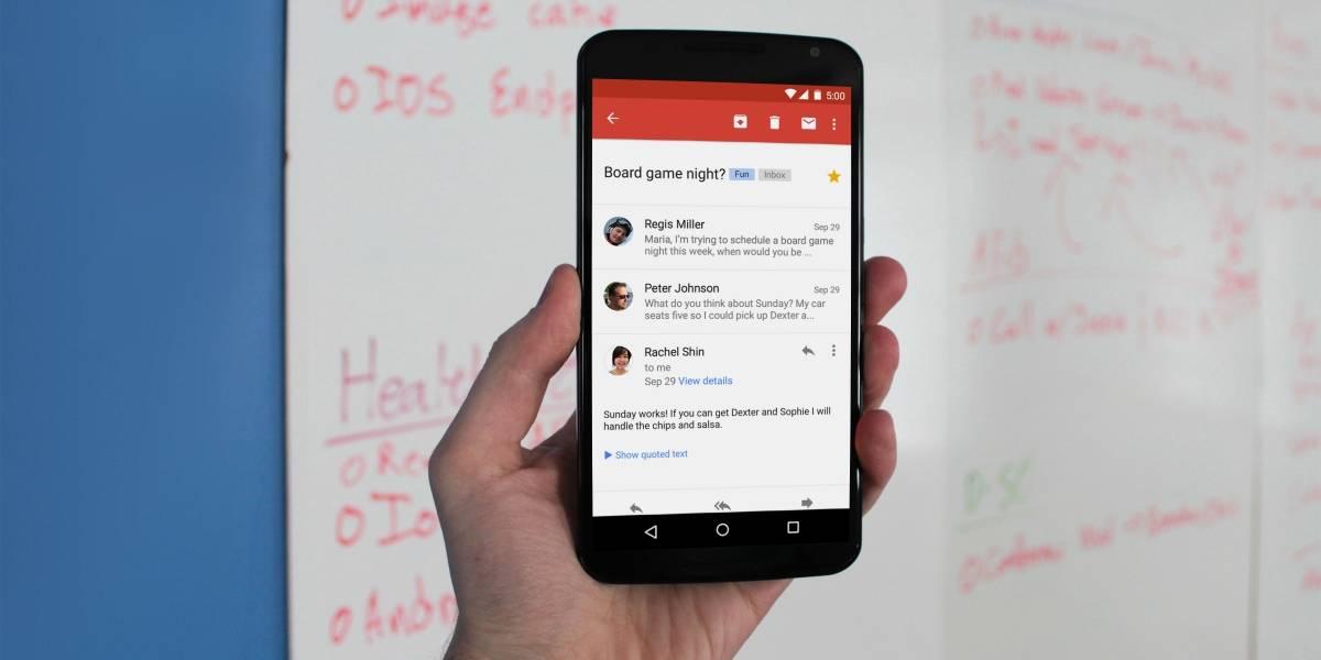 Gmail se actualiza con soporte para GIFs de Gboard