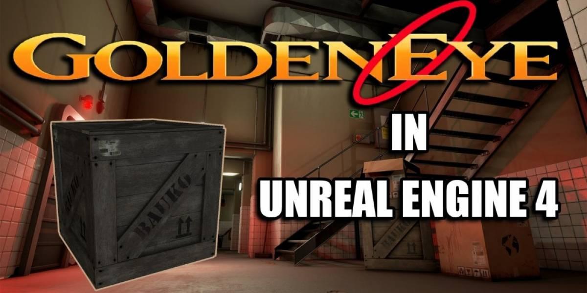 Así luce GoldenEye 007 con Unreal Engine 4
