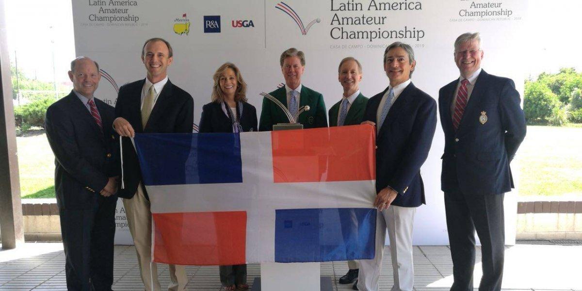 El Latin América Amateur Championship volverá a RD en el 2019