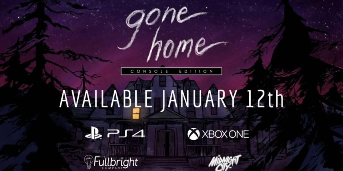 Gone Home llegará en enero a PlayStation 4 y Xbox One