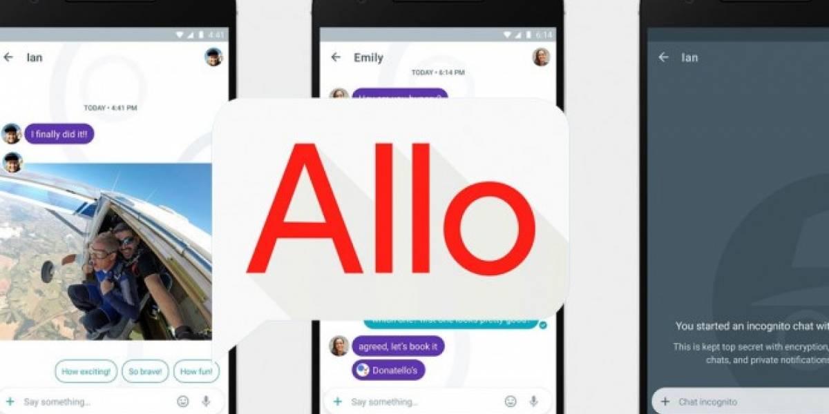 Google ha lanzado Allo, su nueva app de mensajería instantánea
