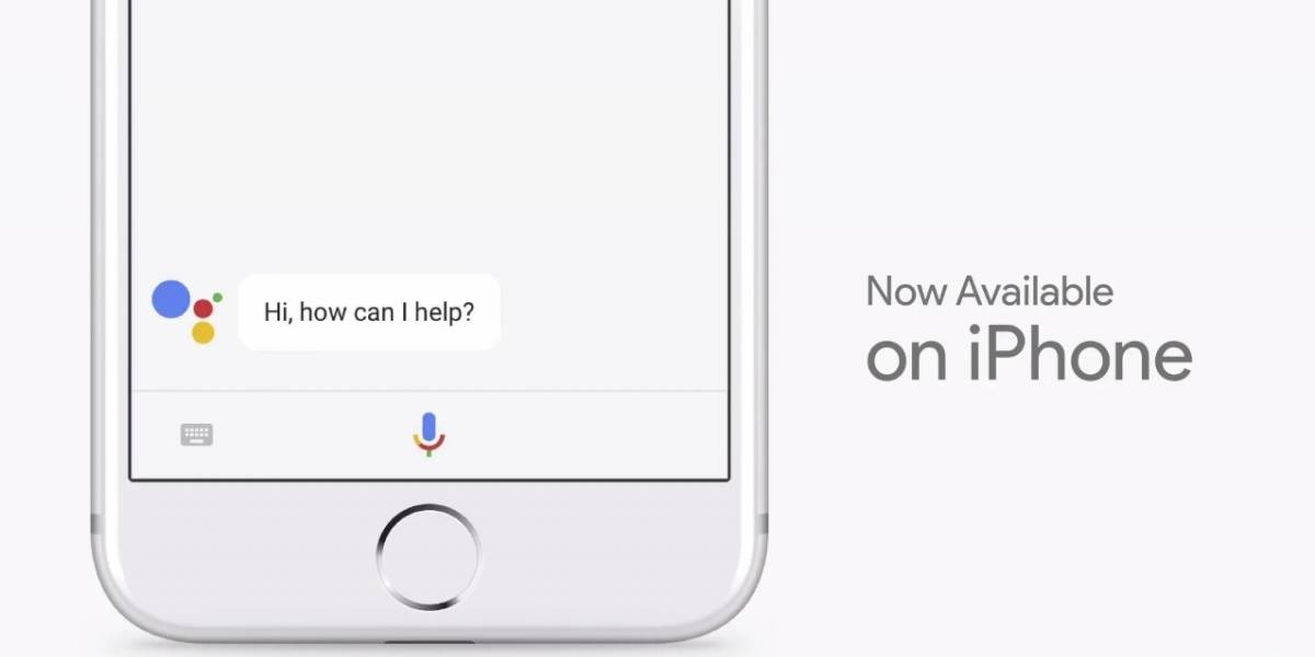 Google Assistant estará disponible en el iPhone #IO2017