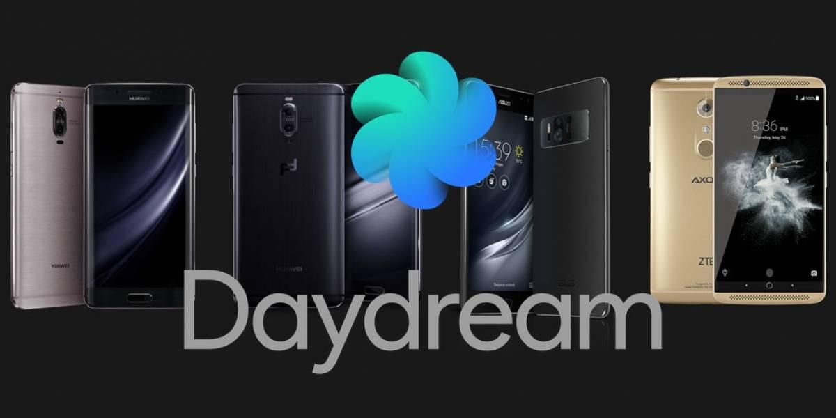 Google confirma 11 modelos Android compatibles con Daydream para 2017