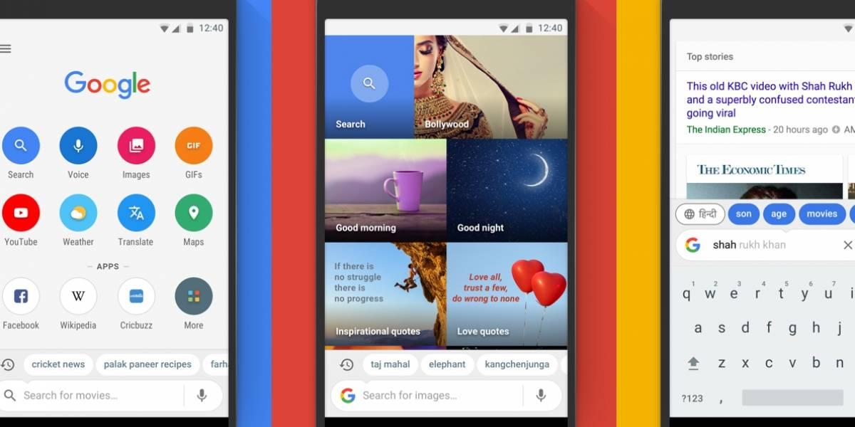 Google Go, una versión rápida y ligera del buscador para Android