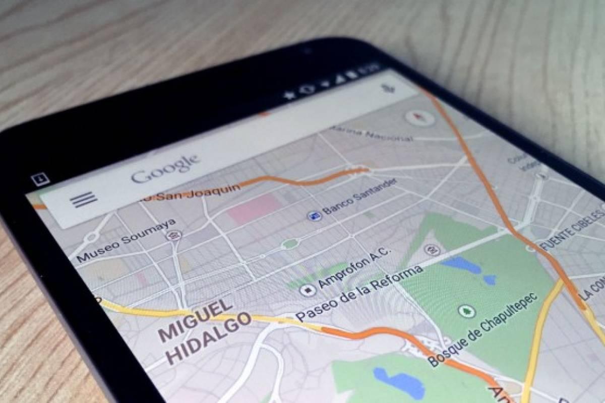 Google Maps ya permite almacenar mapas en memoria externa