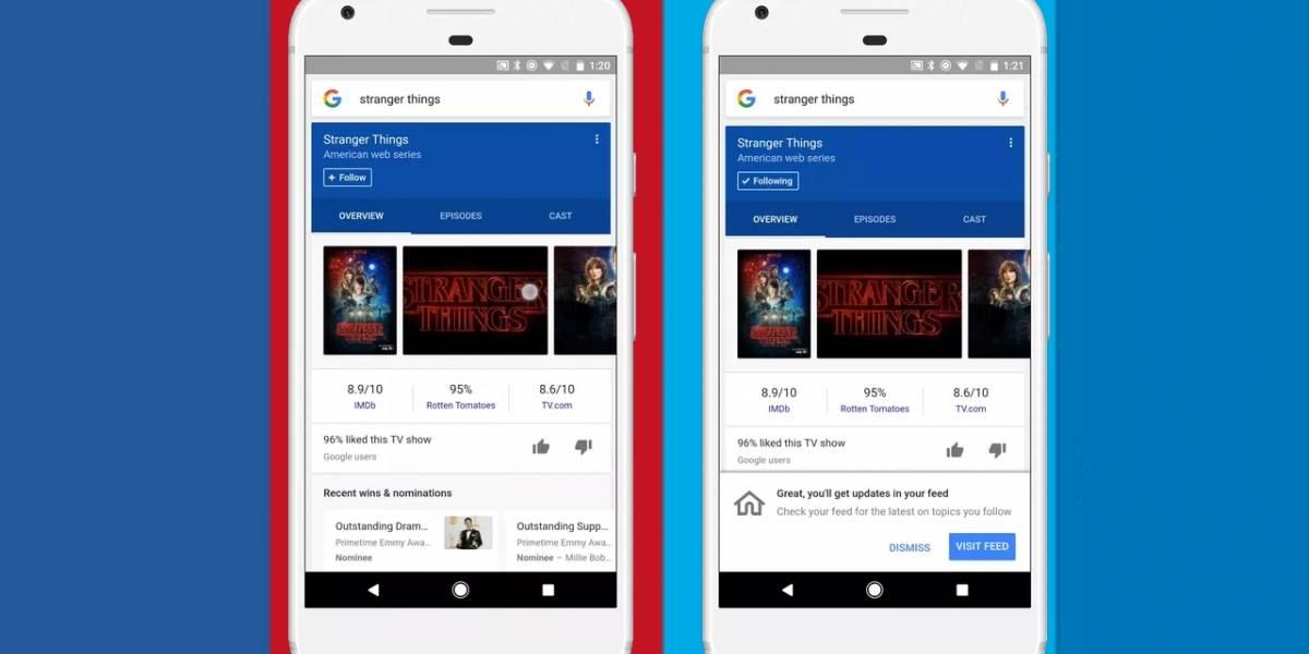 Google cambia la imagen e interfaz de sus feeds para iOS y Android