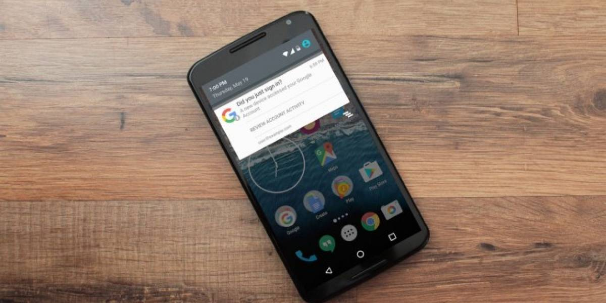 Android te notificará al momento si alguien accedió a tu cuenta de Google
