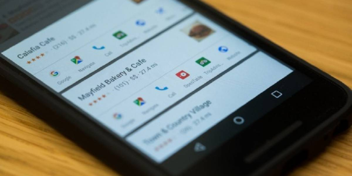 Google Now on Tap integrará tarjetas de información