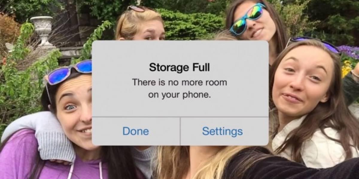 Google Fotos se burla del almacenamiento de iOS en este video