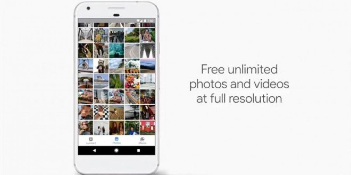 Google Photos ofrece espacio ilimitado con el nuevo Pixel #madebygoogle