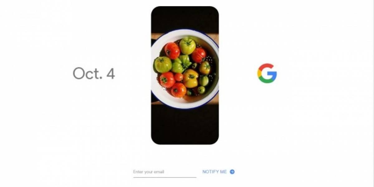 Google confirma la fecha de anuncio de sus teléfonos Pixel