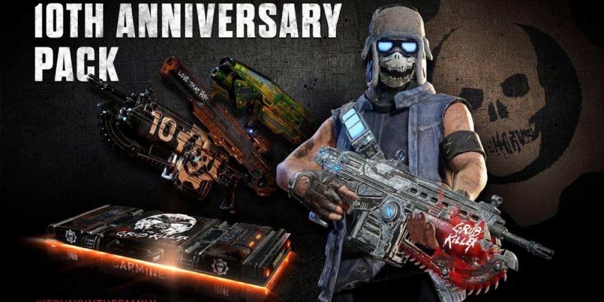 Así es como se celebrará el décimo aniversario de Gears of War