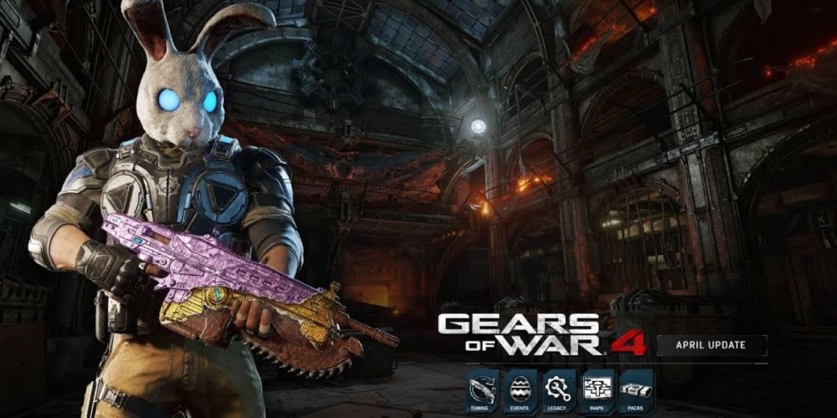 Revelan detalles de la actualización de abril para Gears of War 4