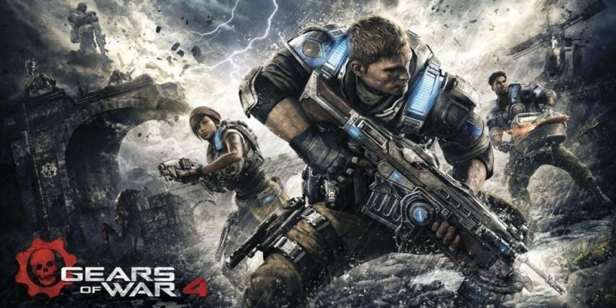 Gears of War 4 recibe intenso teaser tráiler