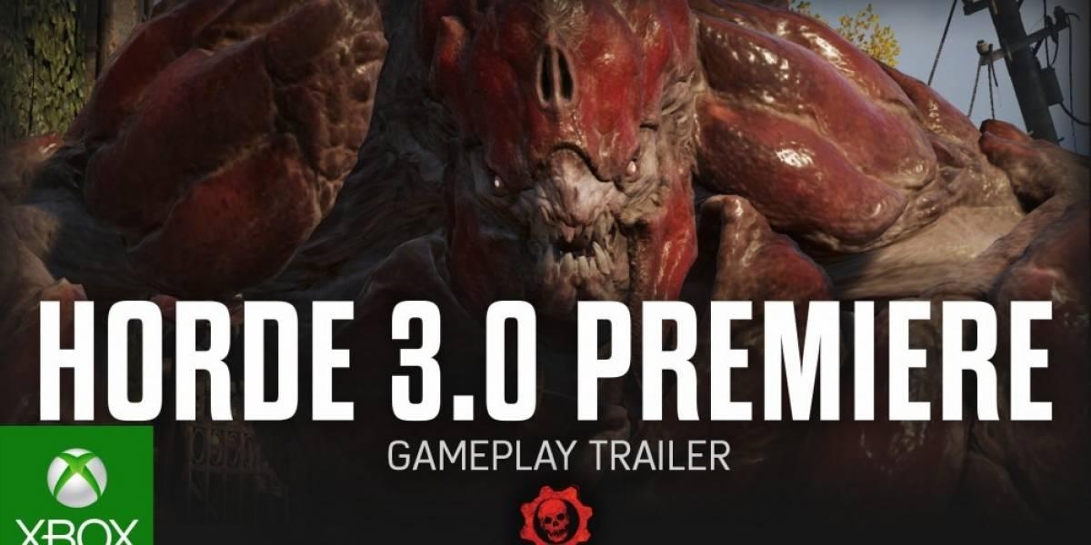 Vean el tráiler de presentación de la Horda 3.0 de Gears of War 4