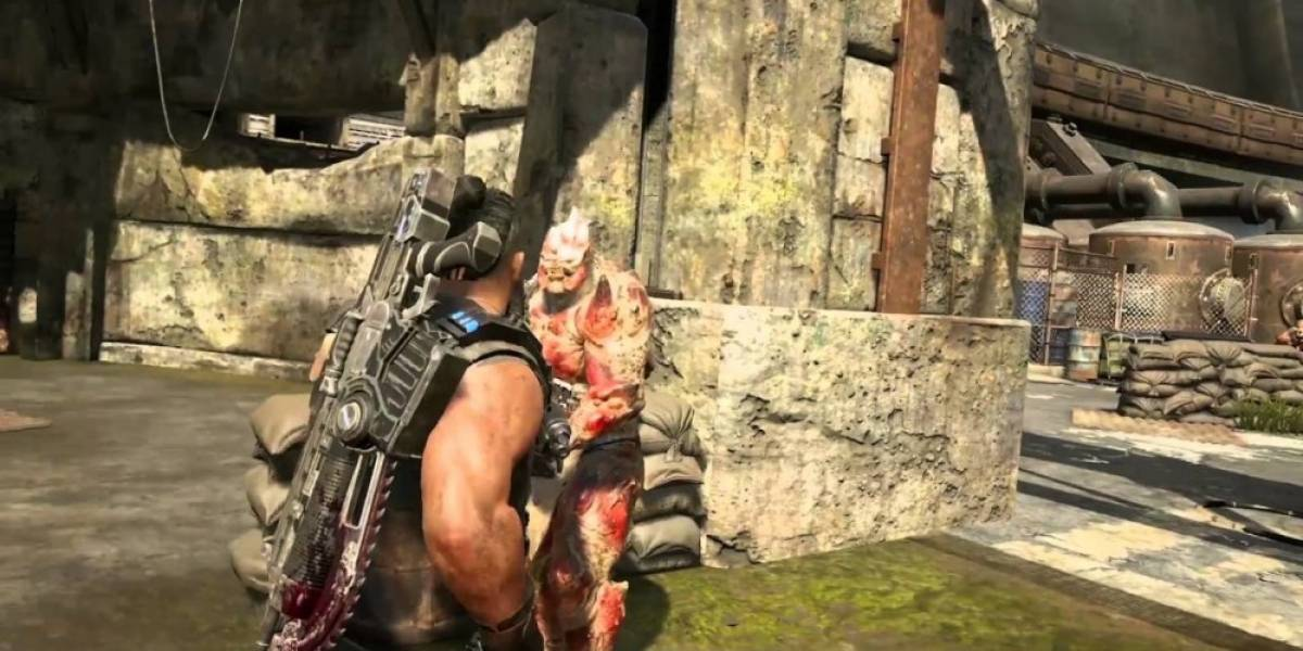 Vean la nueva ejecución con cuchillo en Gears of War 4