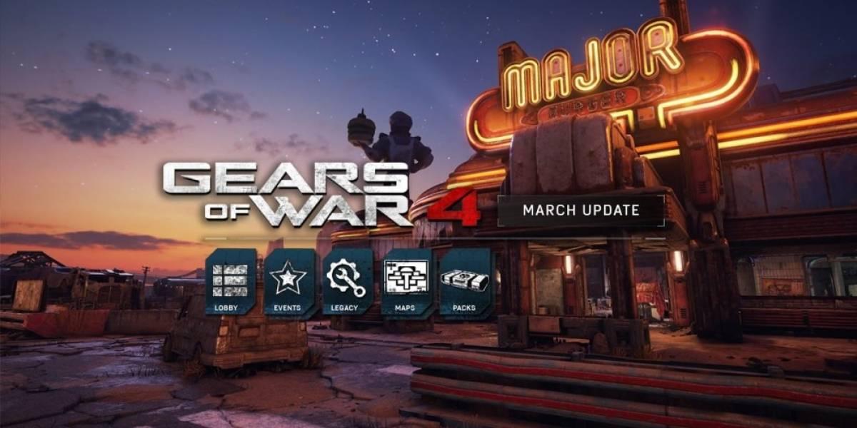 Gears of War 4 recibe actualización con dos nuevos mapas