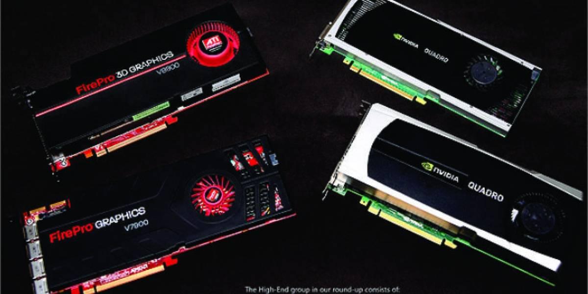 13 GPUs profesionales a prueba