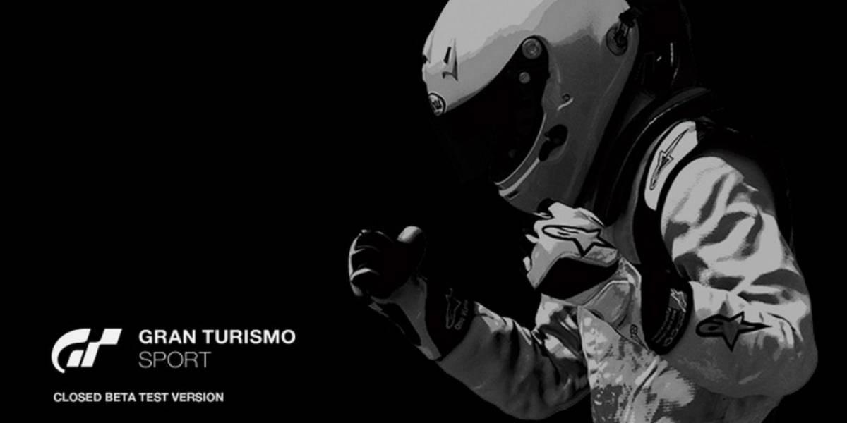 Gran Turismo Sport tendrá Beta cerrada la próxima semana