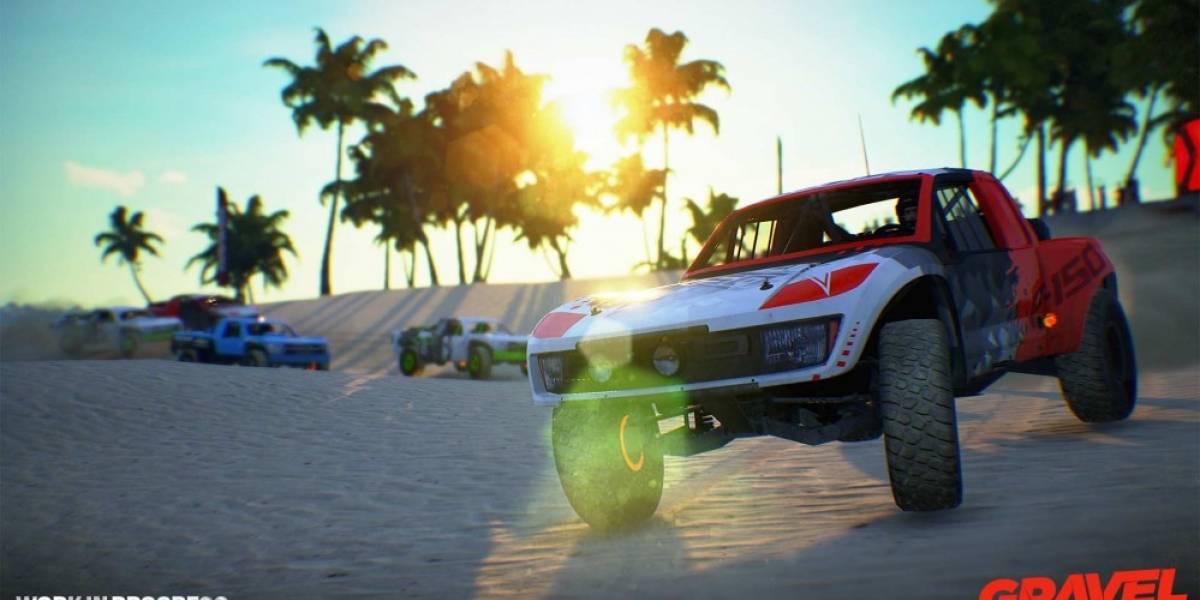 Milestone anuncia Gravel, un nuevo juego de carreras off-road