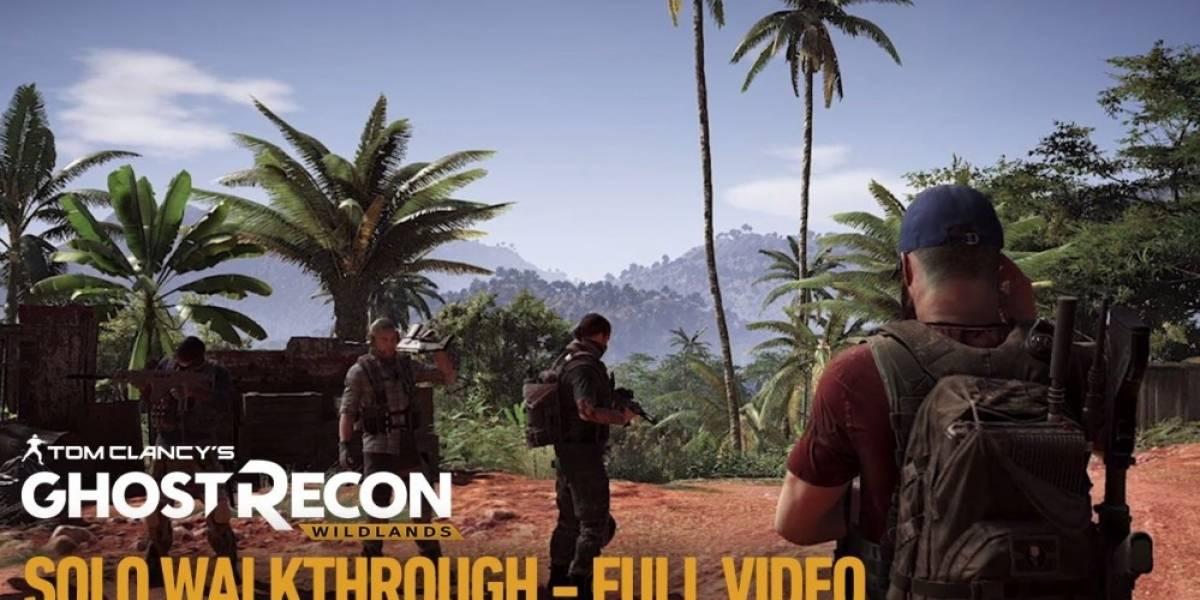 Ghost Recon: Wildlands recibe video con más de 20 minutos de jugabilidad