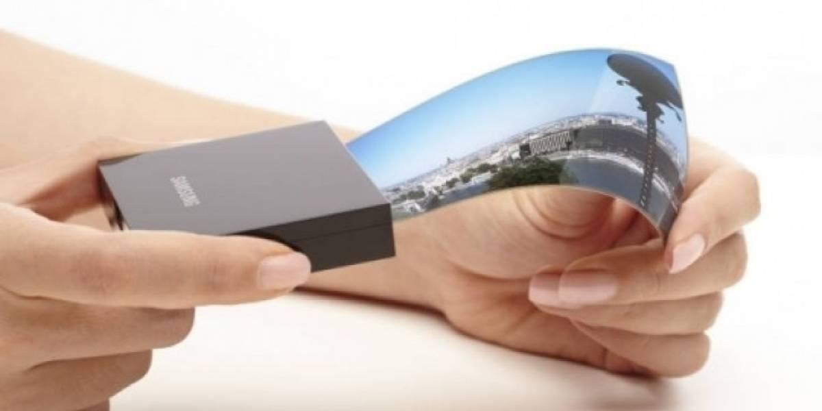 El teléfono plegable de Samsung llegará el 2019