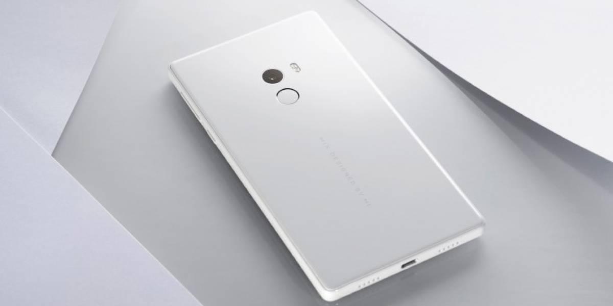 ¿Querías un Xiaomi Mi MIX en blanco? ya se agotó.