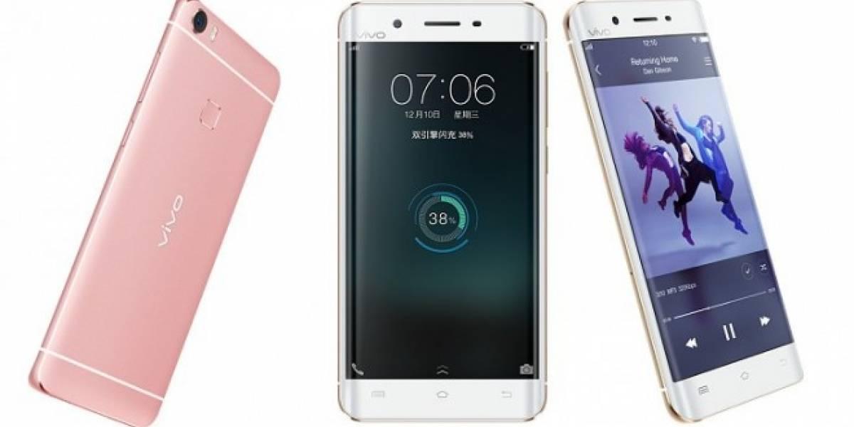 El Galaxy S7 Edge y el iPhone tuvieron un hijo: Vivo Xplay 6
