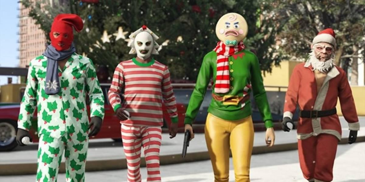 La navidad nuevamente está presente en GTA V