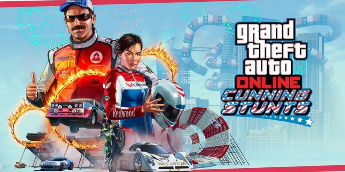 GTA Online presenta la nueva actualización Curvas Peligrosas