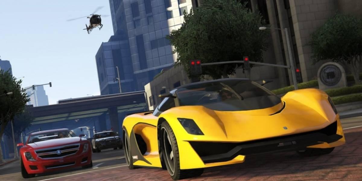 GTA Online recibirá DLC que incluirá robos de autos exóticos