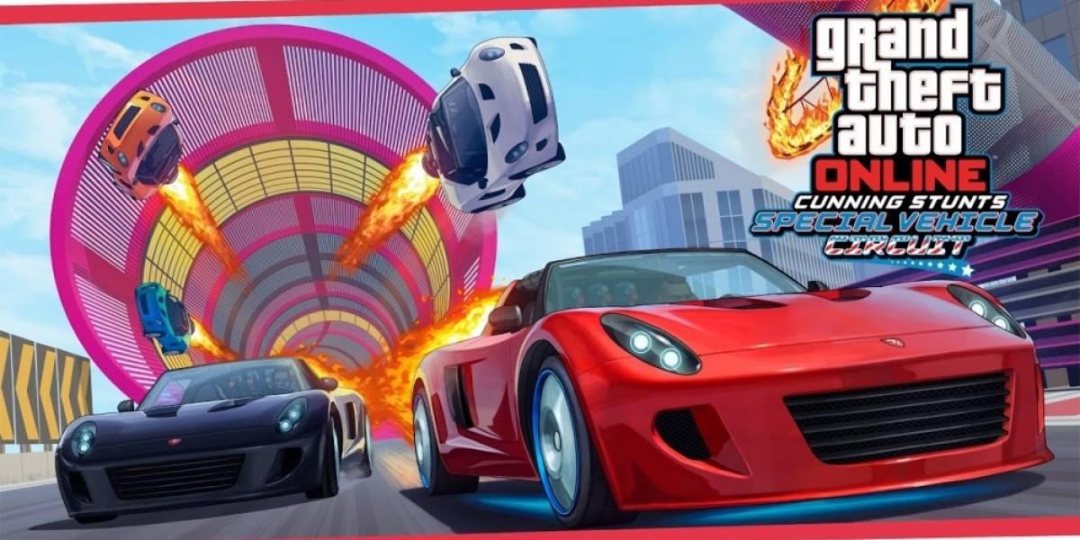 GTA Online recibe la actualización Cunning Stunts