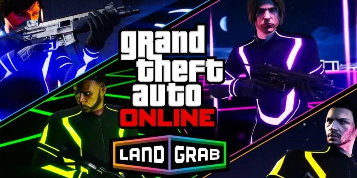 GTA V recibe nuevo modo llamado Land Grab