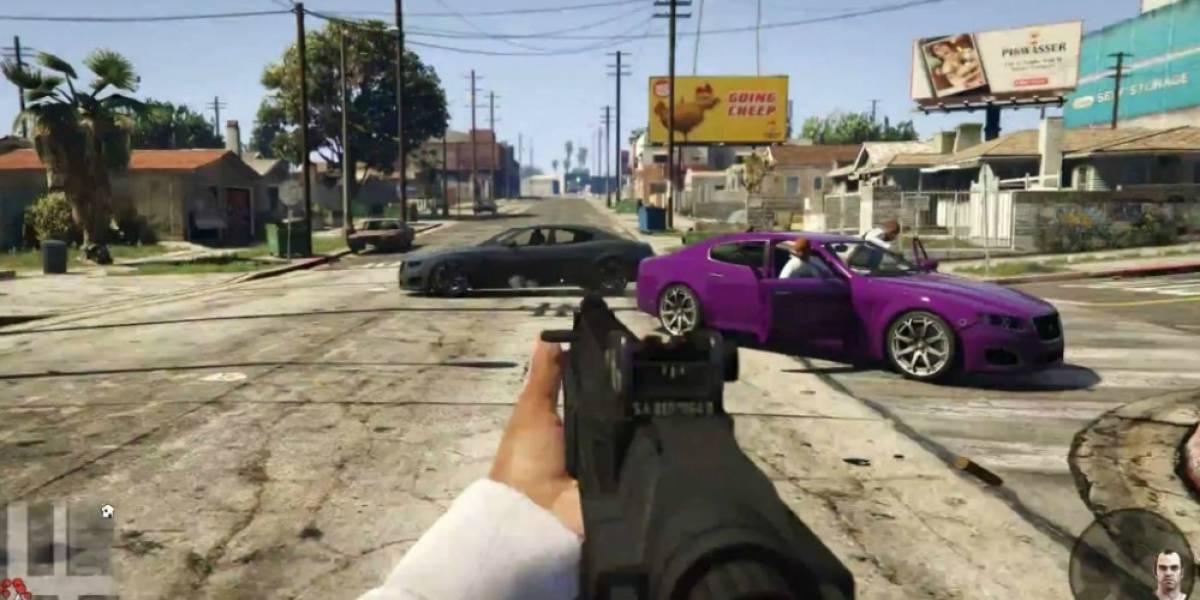 Este mod del GTA V en realidad virtual es el más turbio que hemos visto