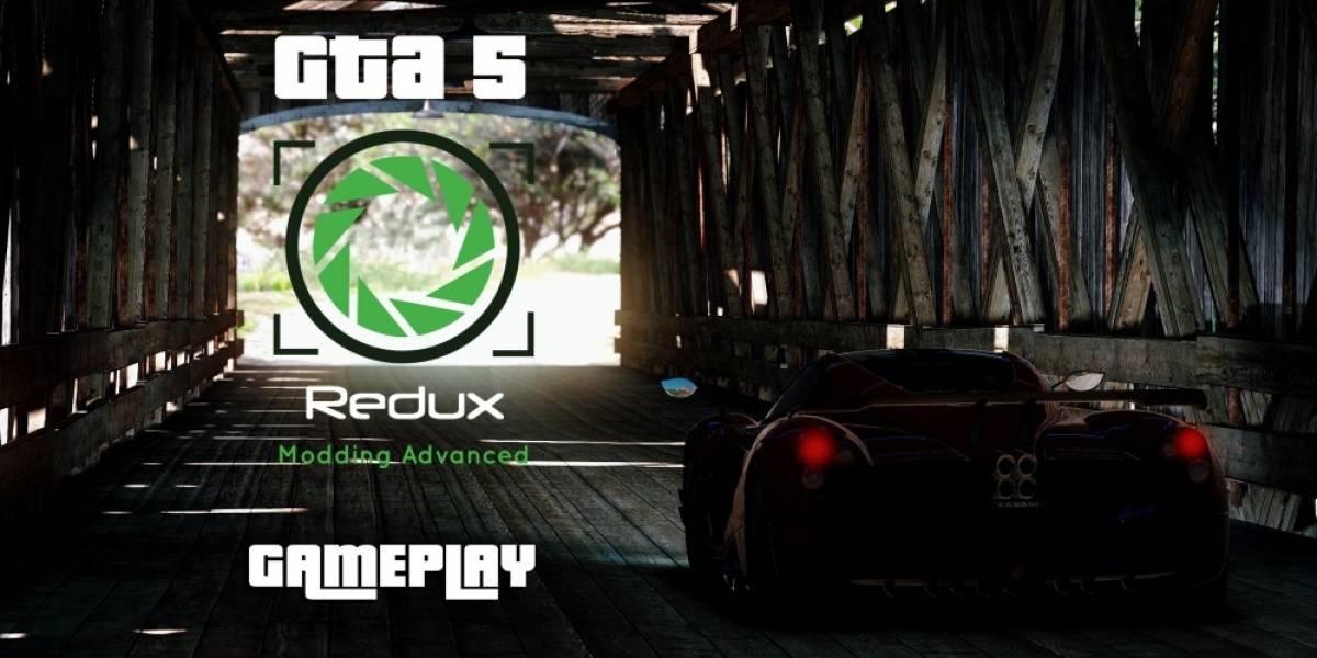 GTA V luce espectacular con el mod Redux