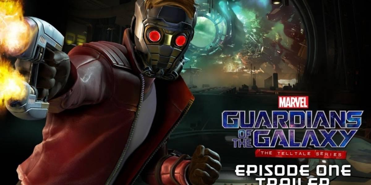 Tráiler de lanzamiento de Guardians of the Galaxy: The Telltale Series