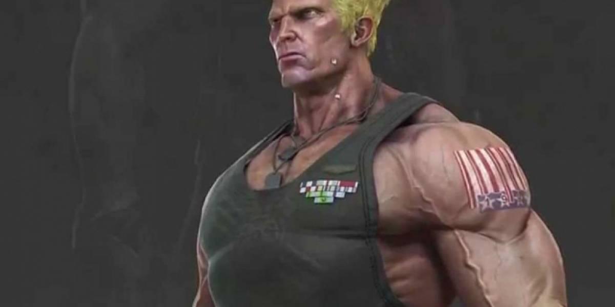 Mañana jueves llegará Guile a Street Fighter V