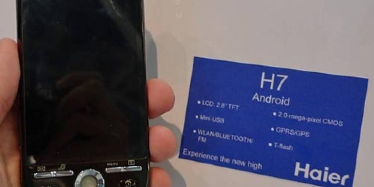 Haier H7: Un androide de buenas prestaciones y bajo costo