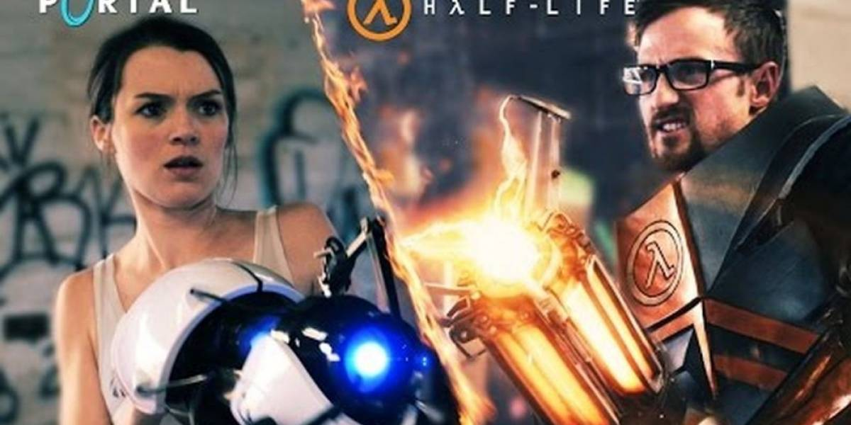 Los protagonistas de Half-Life y Portal se enfrentan en divertido video