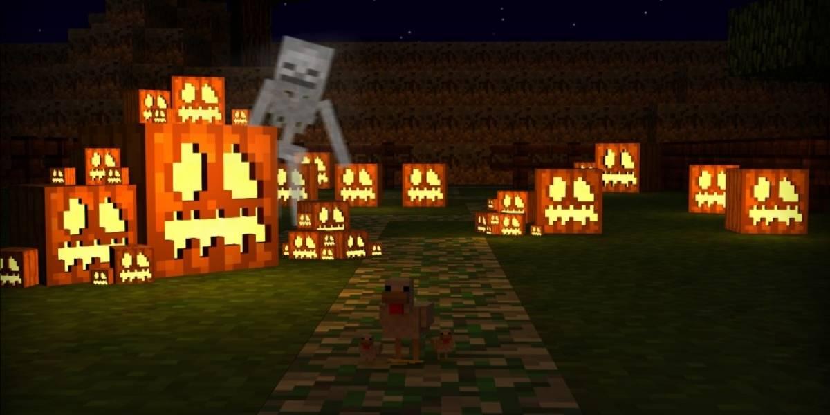 Minecraft para consolas recibe paquete especial de Halloween