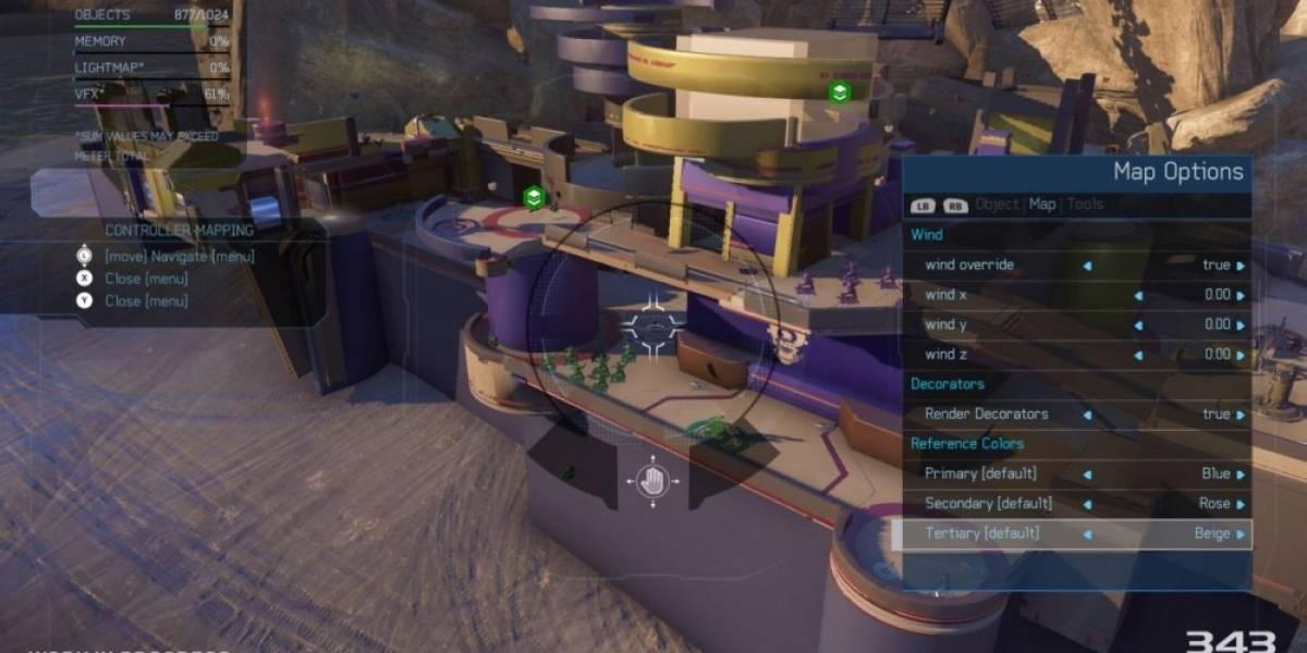 El editor Forge de Halo 5 se lanzará para Windows 10