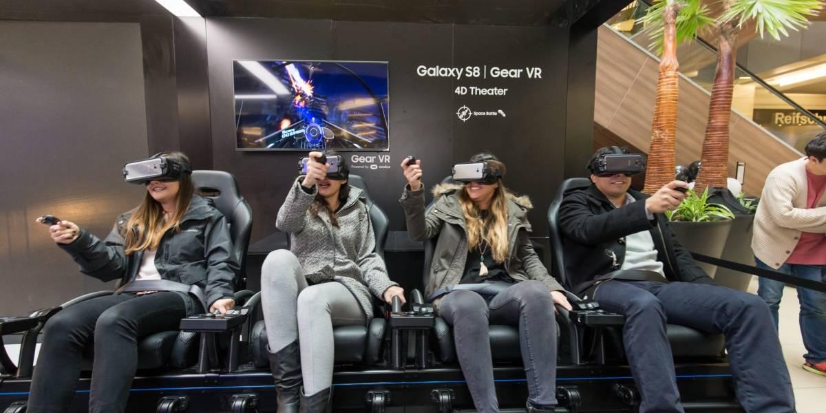 Esta fue nuestra experiencia en el novedoso Galaxy Studio