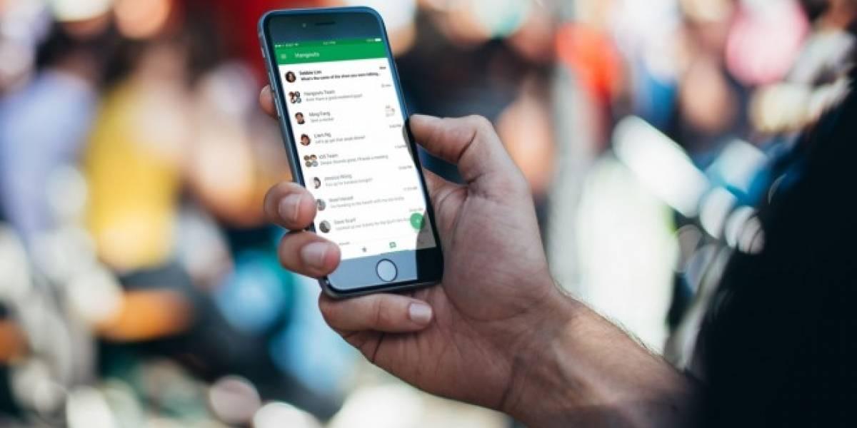 Google Hangouts ahora estará más enfocado en el usuario empresarial