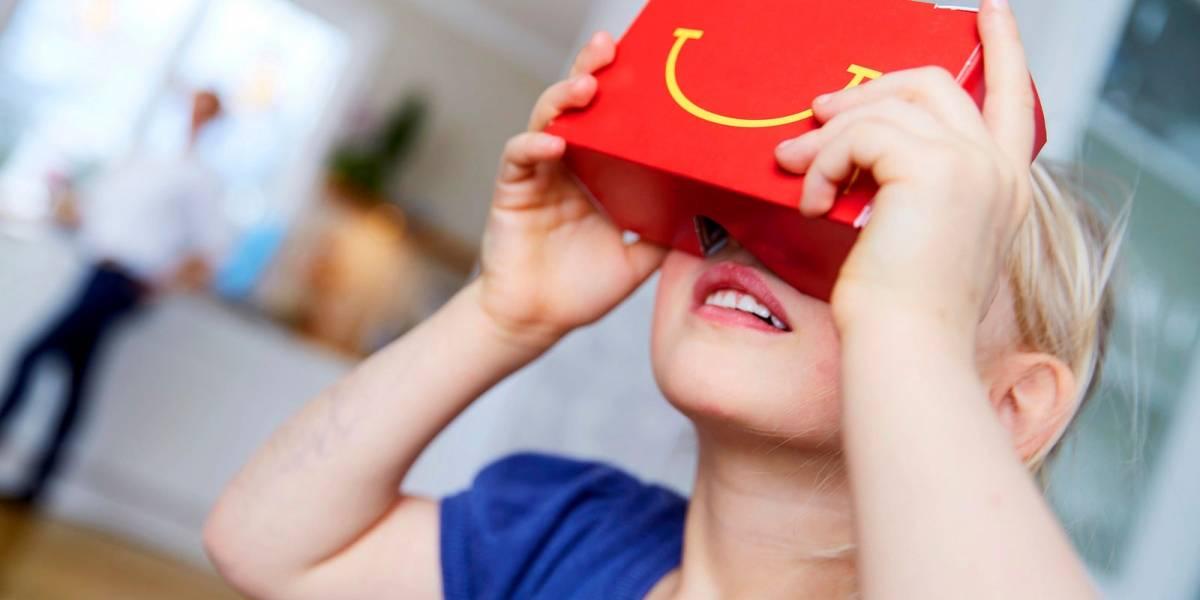 McDonald's convertirá la Cajita Feliz en lentes de realidad virtual