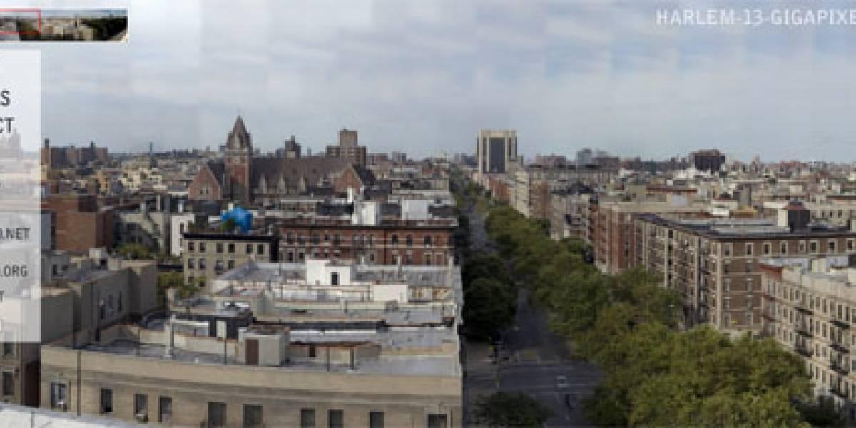 Harlem a 13 Gigapixeles