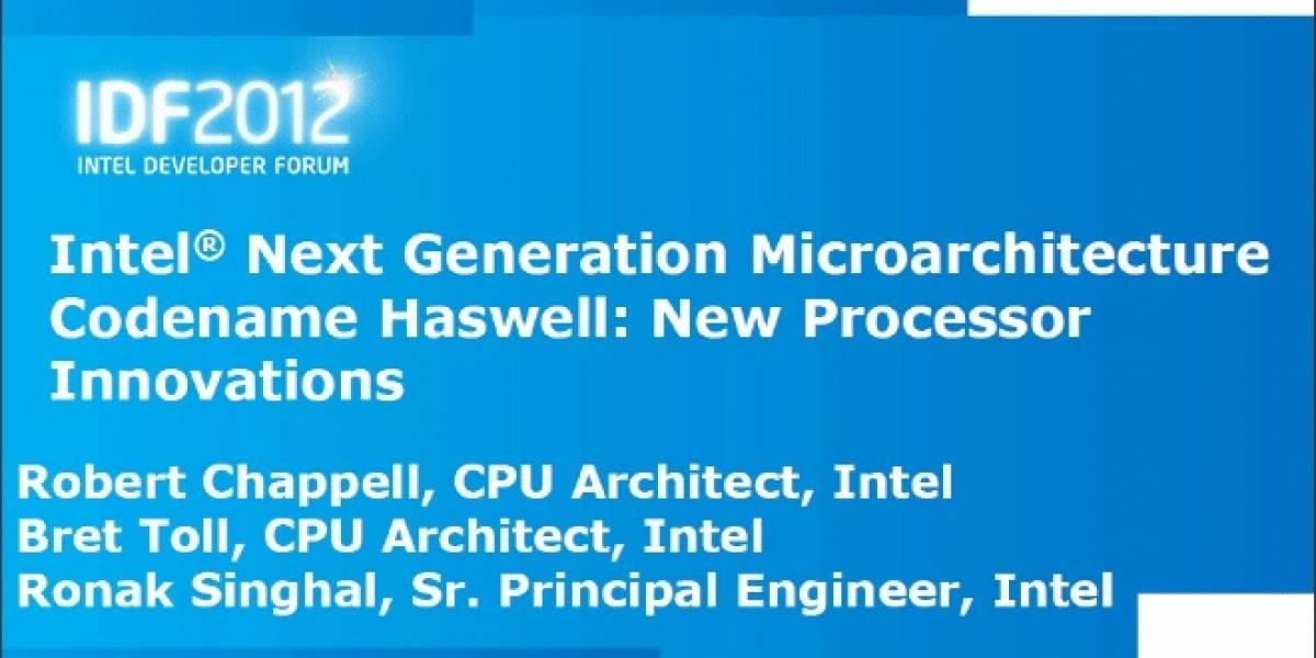 La micro-arquitectura Intel Haswell: Parte 1