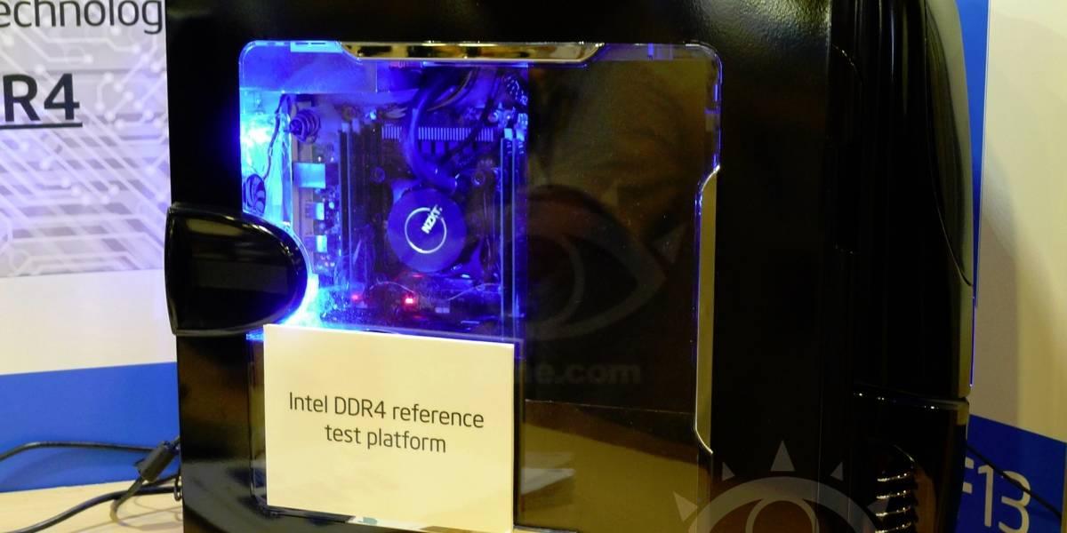 Intel muestra su microprocesador Haswell-E equipado con 32GB de memoria DDR4